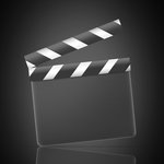 Film clapper from Launch Excel