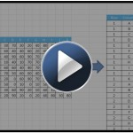 Youtube video: Flatten crosstab table using pivot table in Excel