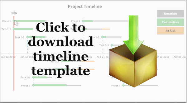 timeline-template download