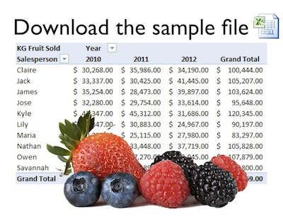 [Image] Click to download Pivot Table file