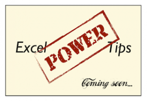 [Image] Excel Power Tips