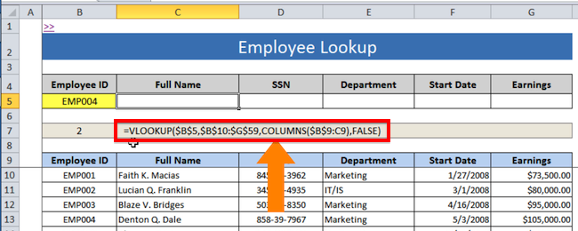 vlookup in excel with example pdf download