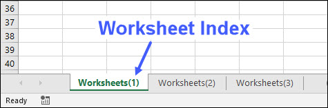 [IMAGE] Excel VBA Worksheet index