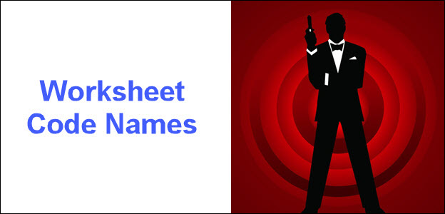 Worksheet code names